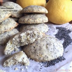 Easy, melt in your mouth crunhyness! Cook Up A Storm, Melt In Your Mouth, First Bite, Lemon Recipes, Shortbread Cookies, Family Meals, Good Food, Make It Yourself, Baking
