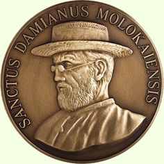 Database - Fidem Medals.Huybrechts, Paul (1951). Canonization of father Damien.