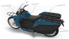 Gute Idee. Ein Cargo-Motorrad-Design für Schwellenländer. .riemann | Industrial Design