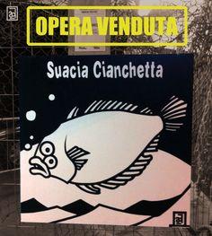 Suacia Cianchetta, 2013 Suacia Cianchetta  Acrilico su legno / Acrylic on wood 100 X 100 cm  OPERA VENDUTA / SOLD