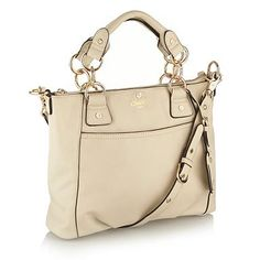 Cream medium grab bag - Hand held bags - Handbags & purses - Women -