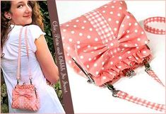 Free Bag Pattern and Tutorial - Petite Purse