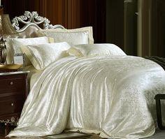 9b4ee40adb Frete grátis 100% bege natural de seda nobre luxo rei de noiva jogo do  fundamento