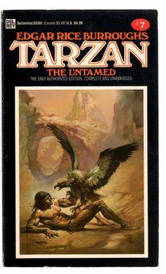 Tarzan the Untamed (Tarzan #7) Edgar Rice Burroughs 1984