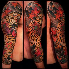 tiger tattoo...