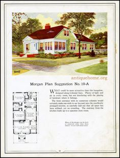 https://flic.kr/p/HPPdnK | Morgan House Plan Suggestions::Building with Assurance | Building with Assurance - 1923 www.antiquehome.org