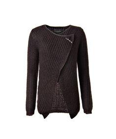 Maison Scotch 60708 damesmode vesten zwart | Van Zuilen Mode