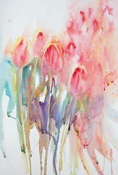 tulips Jean Haines