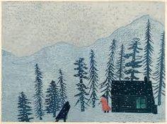 Image result for cabin lino  prints