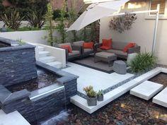 Image result for modern city backyard ideas