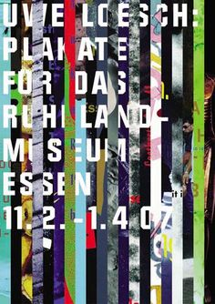 Uwe Loesch, Plakate fuer das Ruhrlandmuseum Essen, 2007