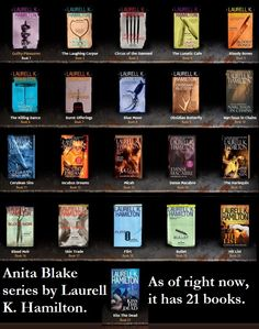 The Anita Blake series by Laurell K. Hamilton.   This super natural series of vampires, werewolves and other unwordly creatures is amazing. I am currently reading two books a week.