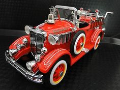Superb Pedal Car 1920s #Cadillac Truck Fire Engine Red Vintage Midget Metal Show Model https://www.minitoycars.com/product/pedal-car-1920s-cadillac-truck-fire-engine-red-vintage-midget-metal-show-model/ #Matchbox #Diecast