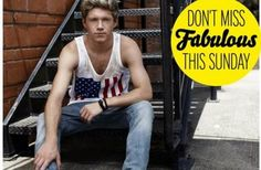 Niall! There's something off about this picture but I can't for the life of me figure it out. In other news AMERICA -E