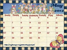 may calendar, for classroom, or ...not...