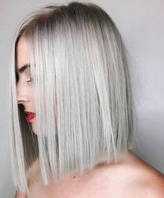 """6,597 Likes, 27 Comments - behindthechair.com (@behindthechair_com) on Instagram: """"* Iced Bob ... By #btconeshot17 Nom @chrisweberhair ・・・ On @lanskies604 hair ♂️ #chrisweberhair…"""""""