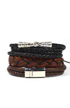 3 Pack Antique Bracelet Set