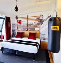 themed boxing bedroom kids - Google Search | Home Fashion Textile ...