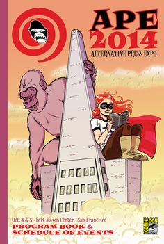 The 2014 Alternative Press Expo, A Showcase of Alternative Comics in San Francisco