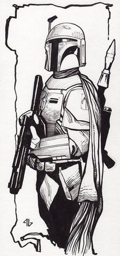 Star Wars - Boba Fett by Adi Granov *
