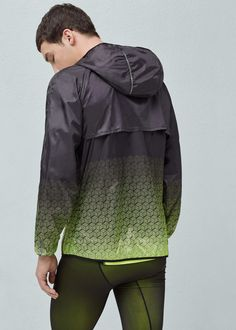 Ultra-light running jacket | MANGO MAN