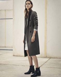 February Lookbook: The Astrid Coat and Wick Dress