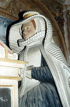 Berkshire History: Bisham Church Monument to Lady Hoby