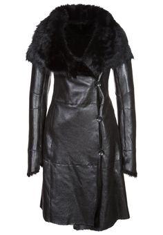 Ventcouvert - DRUPI STAR - Chaqueta de cuero - negro Chaquetas De Cuero  Negras 9f682b24af22
