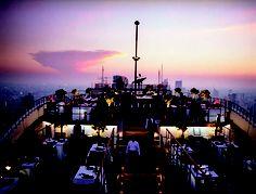 Vertigo Grill Restaurant at the Banyan Tree Hotel