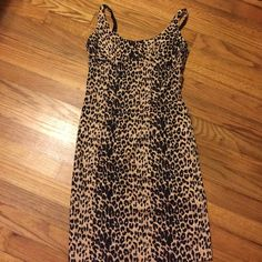 Extremely sexy Bodycon  dress size small Very comfortable and sexy dress zipper on the back it has bra straps for sizing open in the lower back for comfort sits I top of your knees I'm 5'3 only used once for a photo shoot Forever 21 Dresses