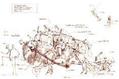 desenhos de François Delarozière