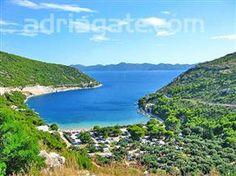 Prapratno Beach is located on the southern side of the Peljesac Croatia