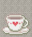 teacup with heart (there's also a matching teapot on the same page)