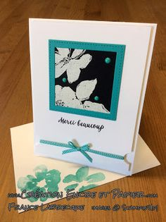Stampin'Up!  Étampes Penned & Painted Stamp Set  Framelits Formes à coudre  Stitched Shapes Framelits  www.creationencreetpapier.com