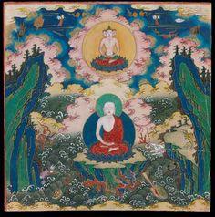 Leaf 17, Wangzimial Aokhan Banner, Inner Mongolia, late 18-19 century. Photo © Museum aan de Stroom, Antwerp