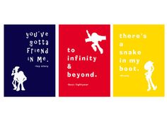 Toy Story  8x10 Nursery Printable set of 3 by JaimeLaur on Etsy, $15.00