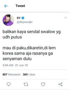 ideas for memes indonesia lucas Quotes Lucu, Jokes Quotes, Me Quotes, Funny Quotes, Funny Memes, Funny Tweets Twitter, Twitter Quotes, Message Quotes, Tweet Quotes
