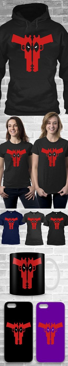 Deadpool Gun Shirts! Click The Image To Buy It Now or Tag Someone You Want To Buy This For.  #deadpool