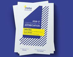 Certificate Design Print Graphic Book Inspiration Booklet Publication Brochure Template Magazine