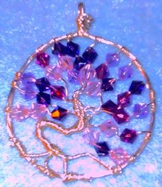 Tree of life pendant hand made tree of life jewelry by Binkisbling, $50.00