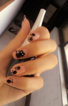 beautiful nail, nail art  Would be great in Purple with a PowerCat!