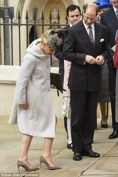 Easter 2015: Earl and Countess of Wessex  4/5/2015