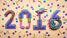 Supersonic Art: Zim & Zou's Bright and Awesome Sculptures. 3d Typography, Cool Lettering, Types Of Lettering, Hand Lettering, Small Sculptures, Graphic Design Print, Color Blending, Typography Inspiration, Letters And Numbers