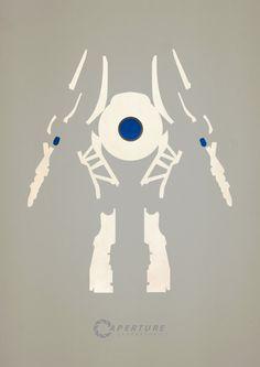 Portal / Aperture Laboratories Minimalist Posters