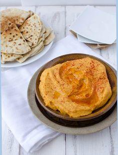 White Bean & Basil Hummus - Delish Knowledge Vegan Appetizers, Appetizer Recipes, Fall Recipes, Whole Food Recipes, Basil Hummus, Best Hummus Recipe, Sweet Potato Hummus, Sweet Potato Cinnamon, Healthy Snacks
