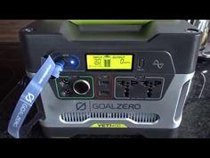 GOAL ZERO Yeti 400 Powerbank - Solargenerator  2xUSB - 1xKfz Buchse 12V - 2xEurostecker 220V