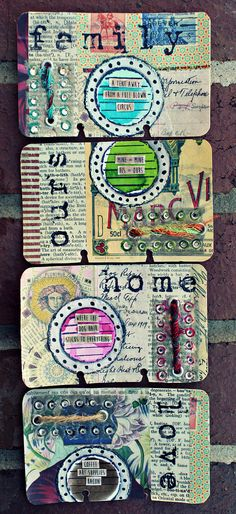 All sizes | Altered Rolodex Cards: Life Series | Flickr - Photo Sharing!