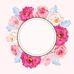 Flower Background Wallpaper, Framed Wallpaper, Flower Backgrounds, Wallpaper Backgrounds, Iphone Wallpaper, Invitation Background, Instagram Highlight Icons, Floral Border, Border Design