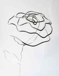 DIY: wire rose