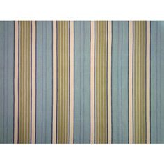 Malabar Tiwi blue ivory green woven cotton ticking stripe curtain fabric<br />We recommend a sample of this fabric if colour is important to you as colours on different screens may vary. Woven Cotton, Cotton Fabric, Curtain Fabric, Curtains, Garden Cushions, Ticking Stripe, Blue Ivory, Screens, Fabric Design